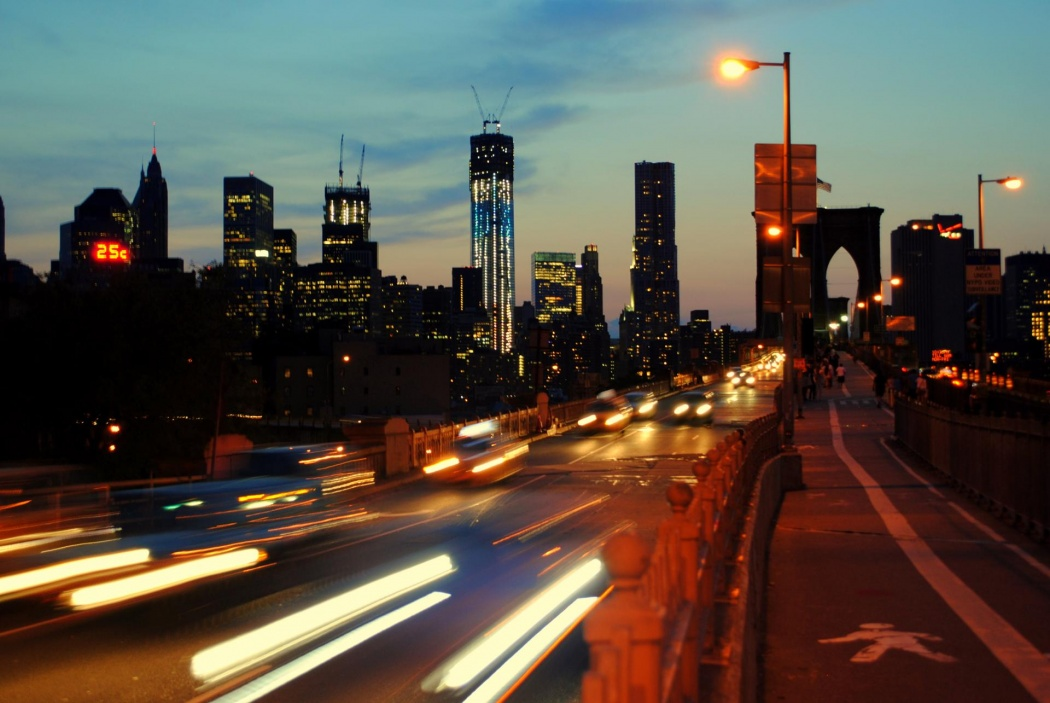 Puente Brooklyn noche