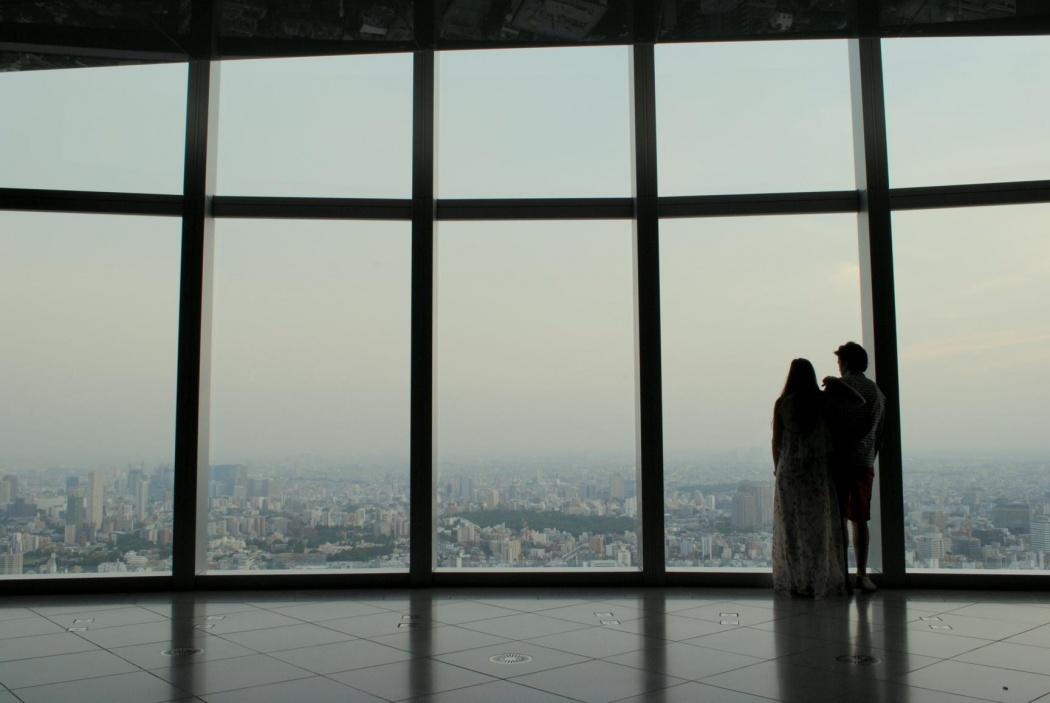 Skyline desde la azotea de Roppongi Hills. Tokyo 2014.