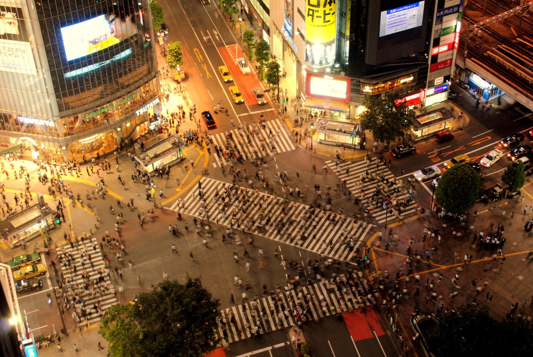 Cruce de Shibuya, Tokyo. Japón 2014.