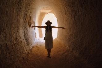 Viajando al pasado en la Catedral Selime, Ihlara. Capadocia 2014.