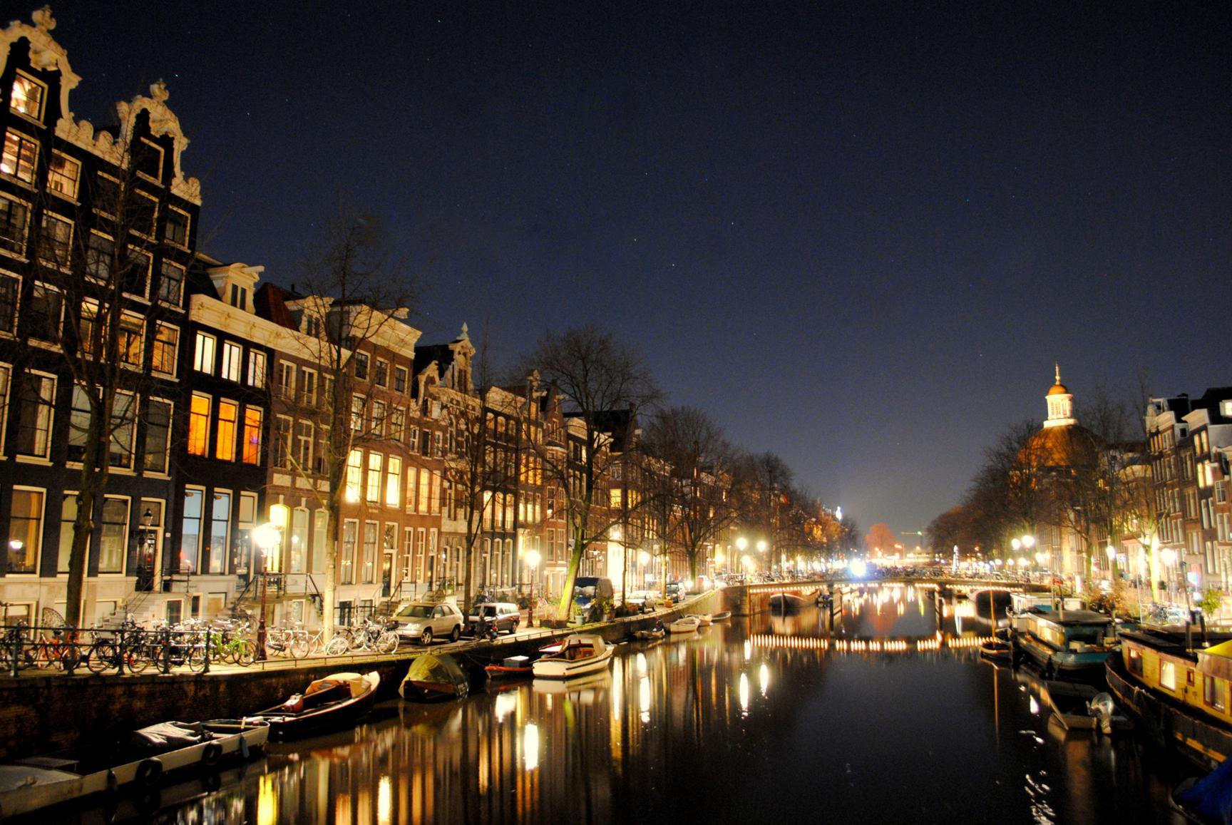 Canal Herengracht. Ámsterdam 2015.