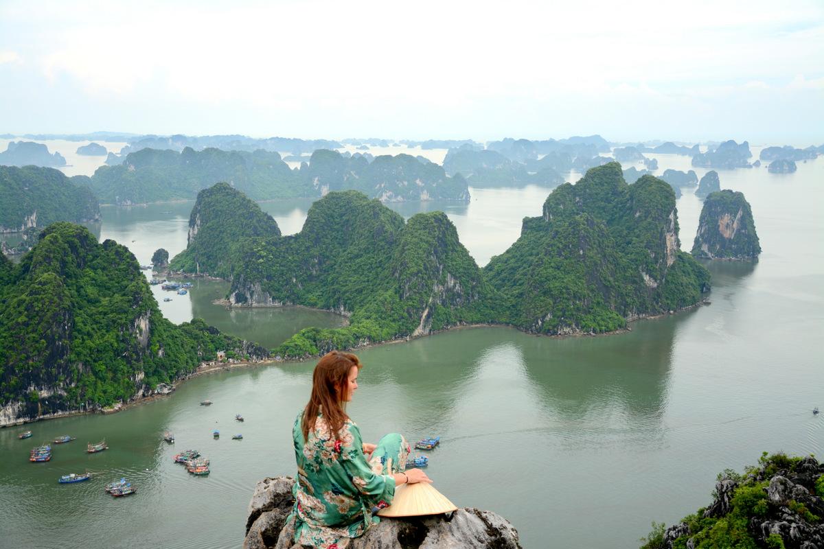 mejores vistas bahia de halong