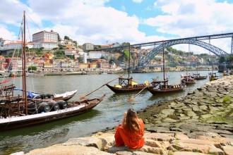 A orillas del Duero. Oporto, 2018.