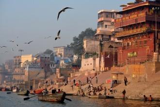 Varanasi, ese extraño lugar donde conviven la vida y la muerte. India, 2018.